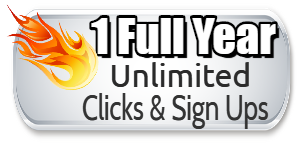 1 Year Unlimited Clicks & Sign Ups